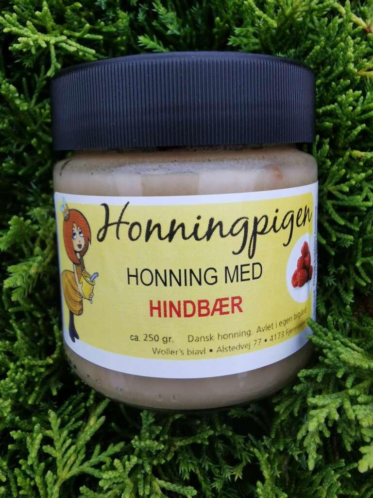 Honning med hindbær